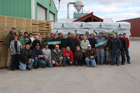 The team at Madison Lumber Mill Inc.